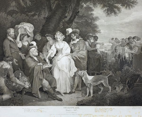 SR Extra Large Folio 56.R 928. A Collection of prints from Pictures painted for the purpose of illustrating the Dramatic Works of Shakspeare by the Artists of Great Britain. Volume 1. London. Published by John and Josiah Boydell, Shakespeare Gallery, Pall Mall and No