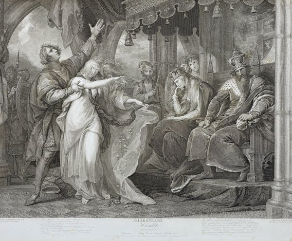 SR Extra Large Folio 56.R 928. A Collection of prints from Pictures painted for the purpose of illustrating the Dramatic Works of Shakspeare by the Artists of Great Britain. Volume 2. London. Published by John and Josiah Boydell, Shakespeare Gallery