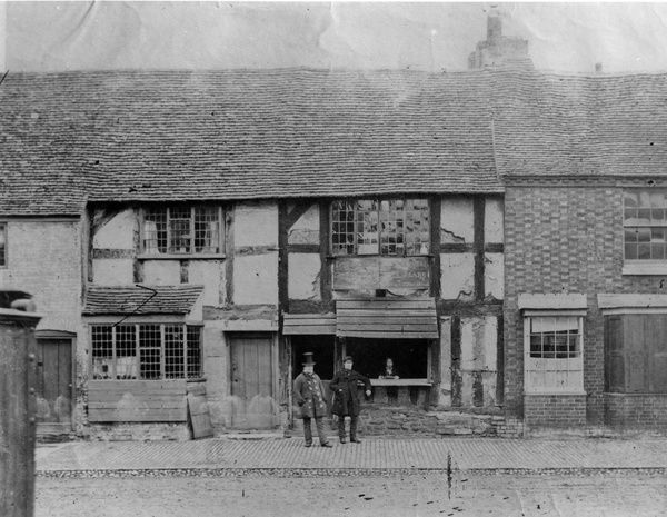1950/24: Shakespeare's Birthplace, 1850, Stratford-upon-Avon. Photograph taken by Firth. The Shakespeare Centre Library and Archive