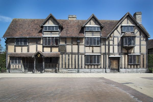 The Birthplace of the famous playwright, William Shakespeare, located on Henley Street, Stratford Upon Avon