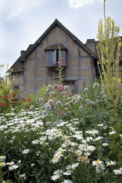 William Shakespeare's Birthplace house and rear gardens