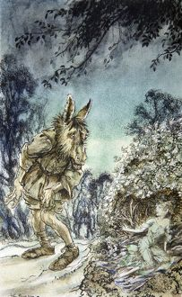 A Midsummer Nights Dream, illustrated by Arthur Rackham, 1939