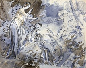 Midsummer Night's Dream by John Masey Wright, 19th Century