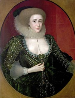 Portrait of an Unknown Woman by Marcus Gheerherts, 1610