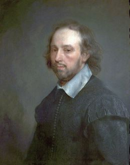 Portrait of Shakespeare by Gerald Soest, 1667