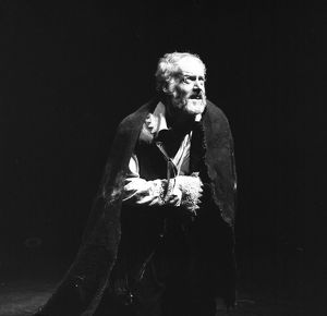 King Lear, photo by Joe Cocks, 1974