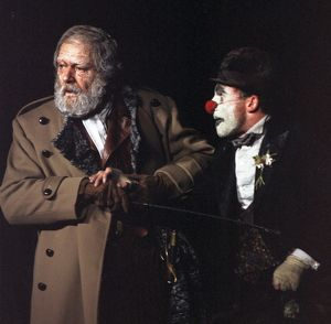 King Lear, photo by Joe Cocks, 1982