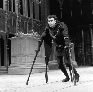 Richard III, photo by Joe Cocks, 1984
