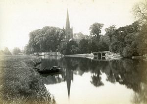 Holy Trinity Church from the river