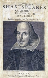 books print/sbt sr os 37 shakespeare first folio 1623 83000011
