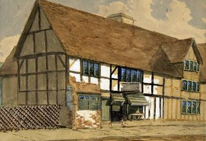 Shakespeare's Birthplace, 1858