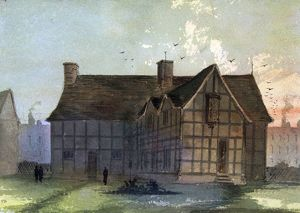 Shakespeare's Birthplace by Paul Braddon