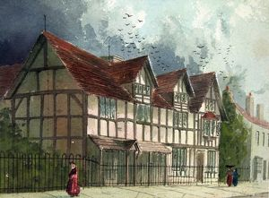 Shakespeare's Birthplace after restoration by Paul Braddon