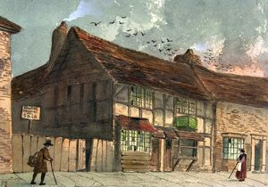 Shakespeare's Birthplace before restoration by Paul Braddon
