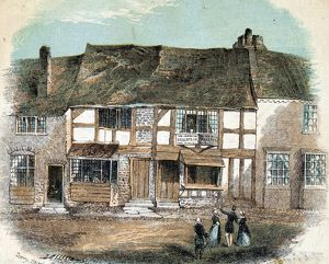 Shakespeare's Birthplace by Terry Stoneman & Co, 1850
